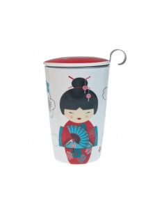Tisanera Little Geisha Red