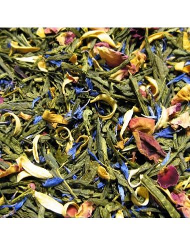 Té verde Flores y Frutas