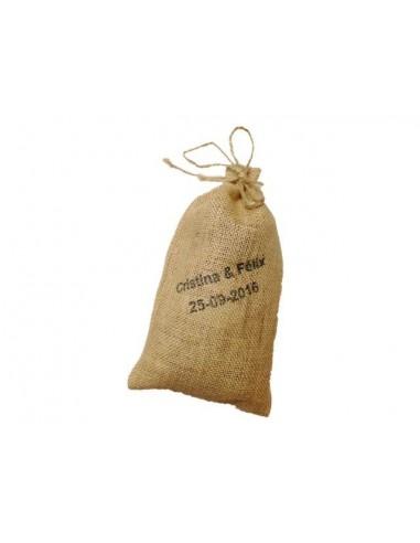 Saco con Té Personalizado