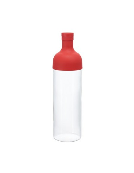 Botella para Té frío roja