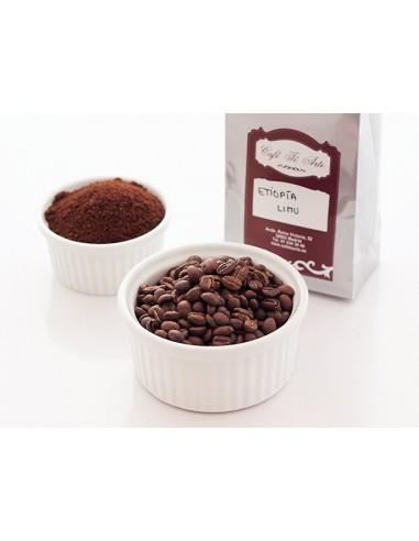 Café natural arábico Etiopía Limu