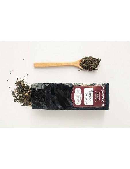 Bodegon té verde con jengibre
