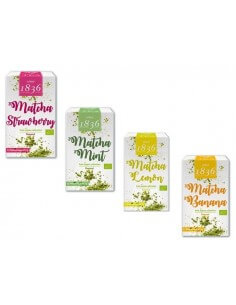 Matcha monodosis sabores