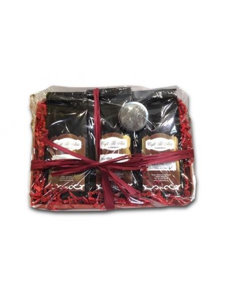 Cesta regalo - Surtido Tés rojos Pu-erh