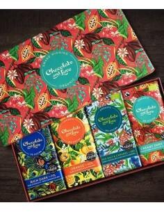 Caja regalo Chocolate roja