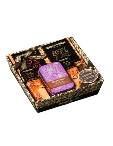Cesta regalo Chocolate Amatller