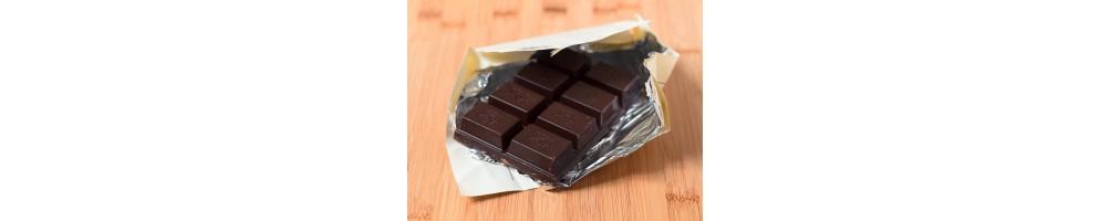 Gran variedad de chocolates