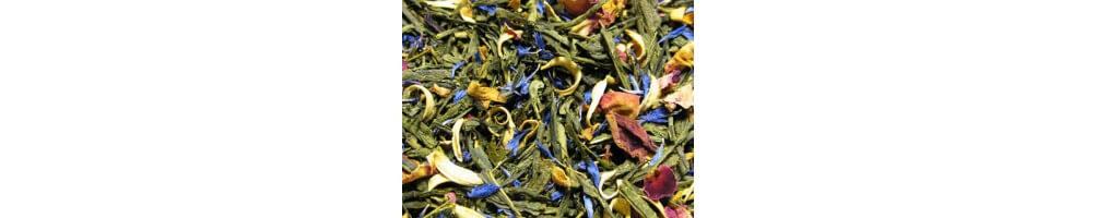Comprar Té Verde Aromatizado con ingredientes o aromas