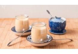 Yogur de café casero