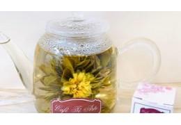 Flores de té blanco, un espectáculo para ojos y paladar